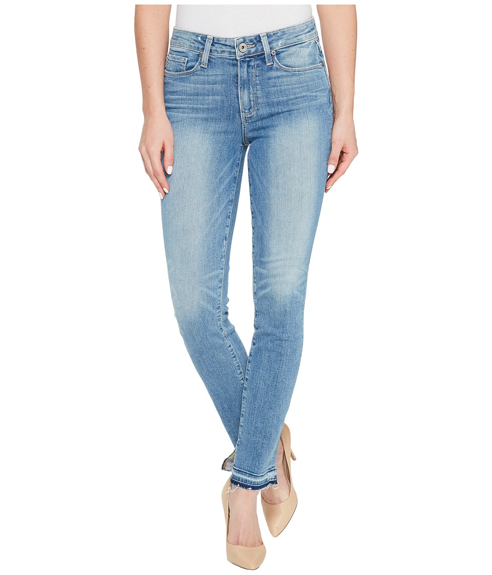 Paige - Hoxton Ankle Peg w/ Undone Hem + Inseam Slit in Palmer (Palmer) Women's Jeans