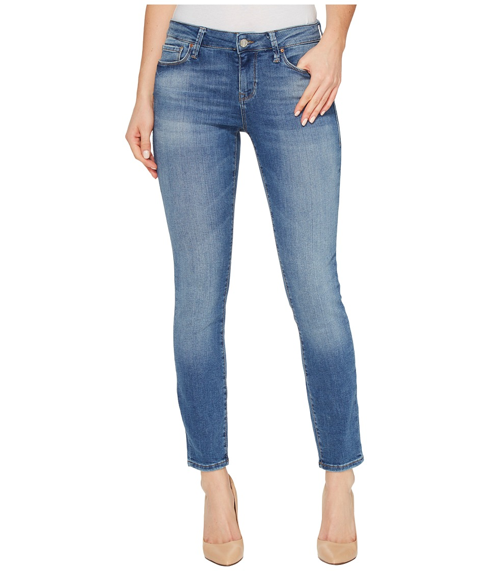 Mavi Jeans - Alexa Ankle Mid-Rise Skinny in Mid Shaded Tribeca (Mid Shaded Tribeca) Women's Jeans