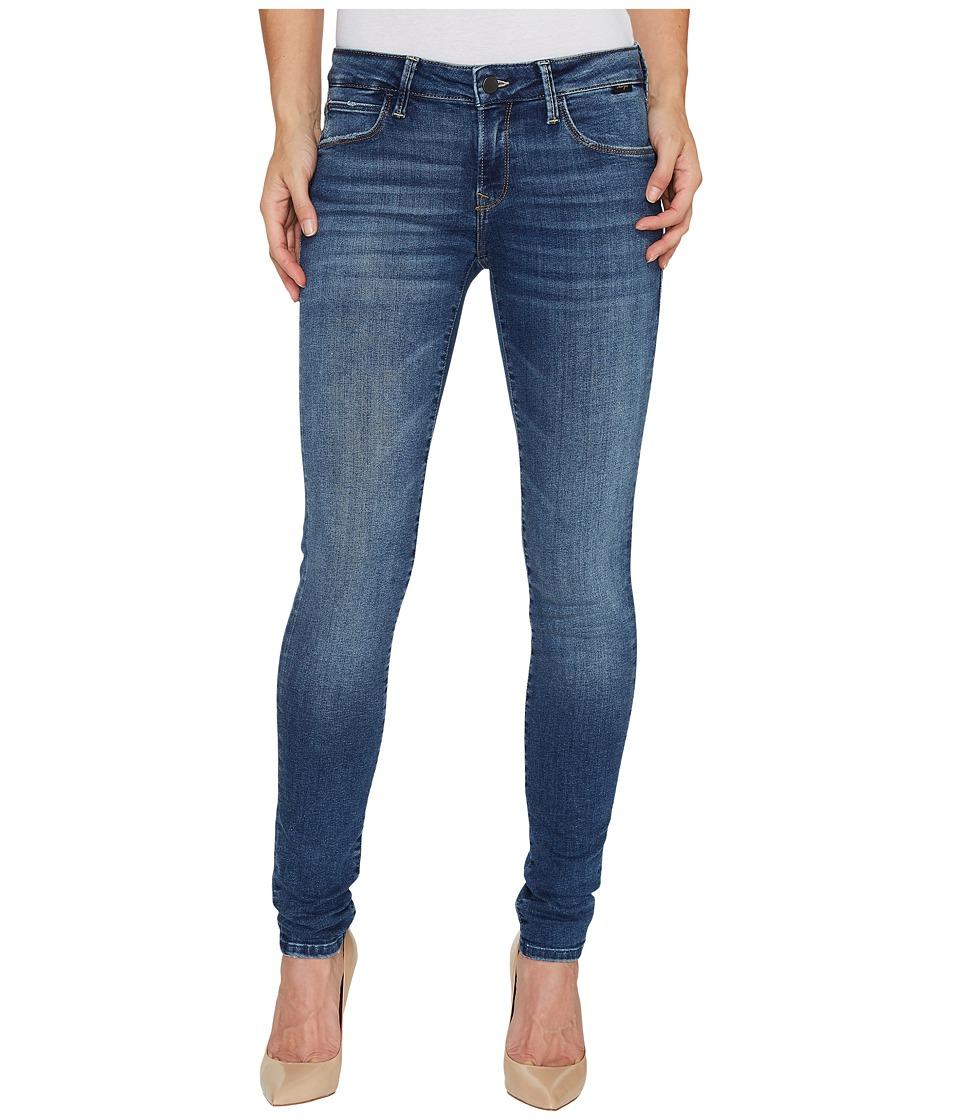 Mavi Jeans - Adriana Mid-Rise Super Skinny in Dark Used Gold Vintage (Dark Used Gold Vintage) Women's Jeans