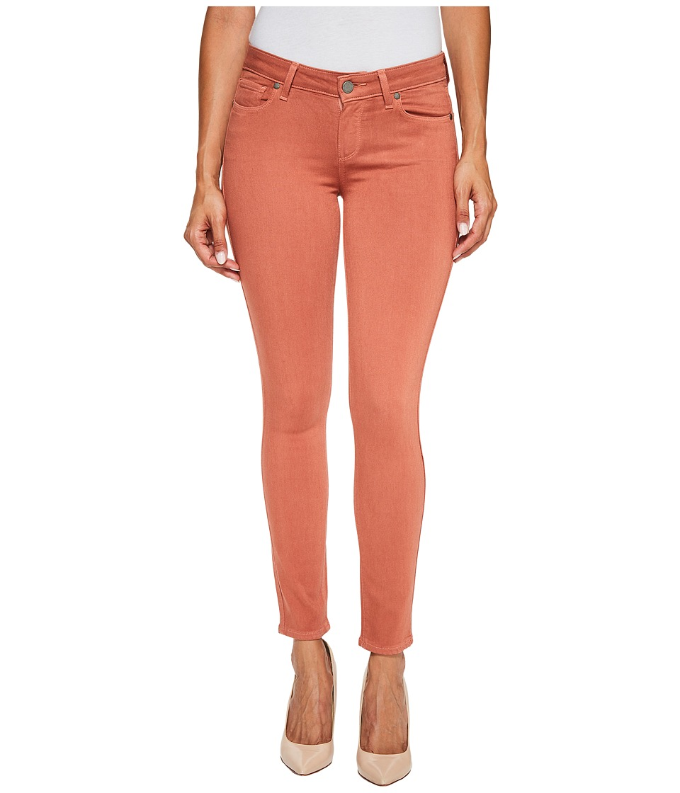 Paige - Verdugo Ankle in Brick Red (Brick Red) Women's Jeans