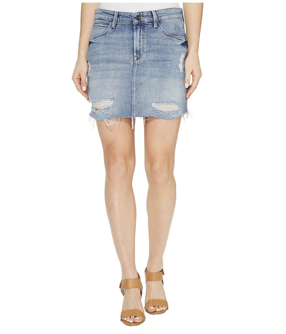 Mavi Jeans - Carmen Skirt (Mid Ripped Gold Vintage) Women's Skirt