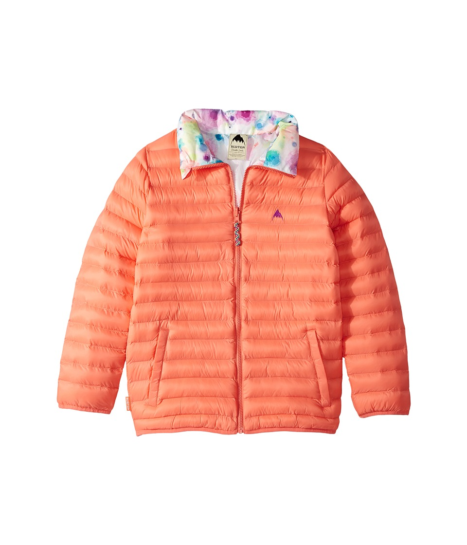 Burton Kids Flex Puffy Jacket (Little Kids/Big Kids) (Georgia Peach/Dip-Dye) Girl
