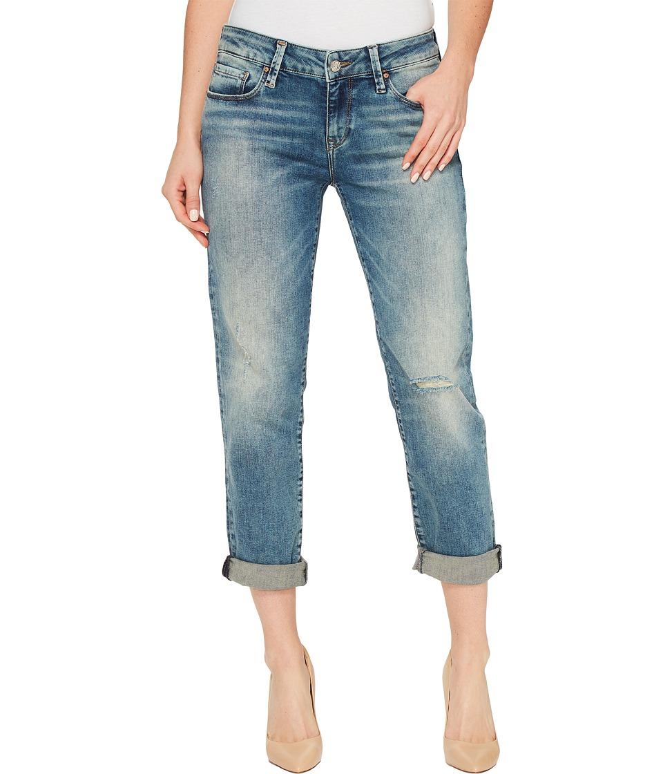 Mavi Jeans Emma Slim Boyfriend in Mid Earthy Vintage (Mid Earthy Vintage) Women