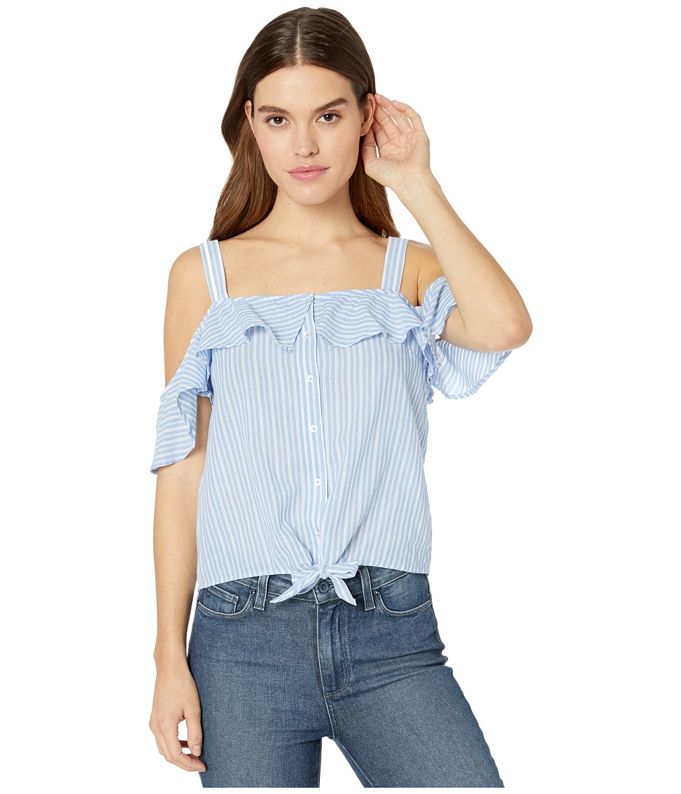 Paige - Tori Top (Blue/White) Women's Clothing