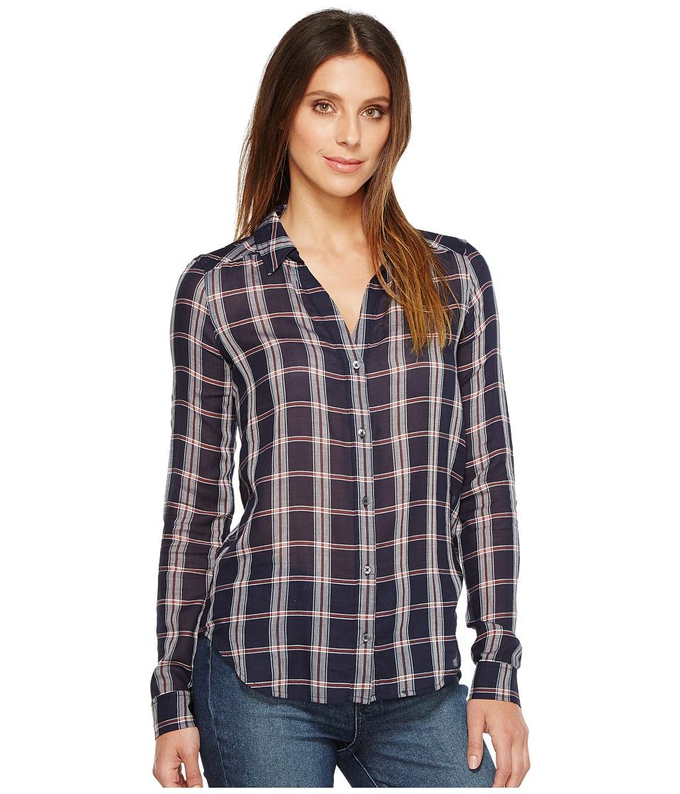 Paige - Kiernan Shirt (Dark Ink Blue/Baked Apple) Women's Clothing