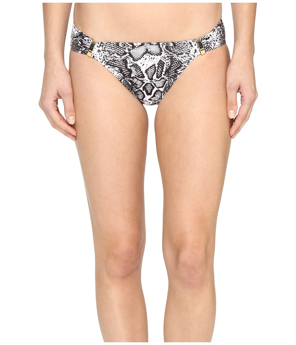 Tommy Bahama Snake Charmer Shirred Hipster Bottom with Trim (Espresso) Women