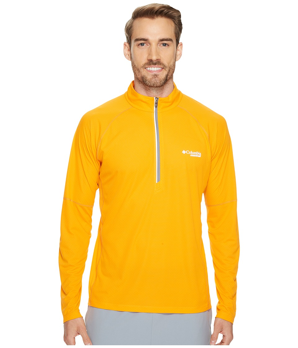 Columbia Titan Ultra Half Zip Shirt (Solarize) Men
