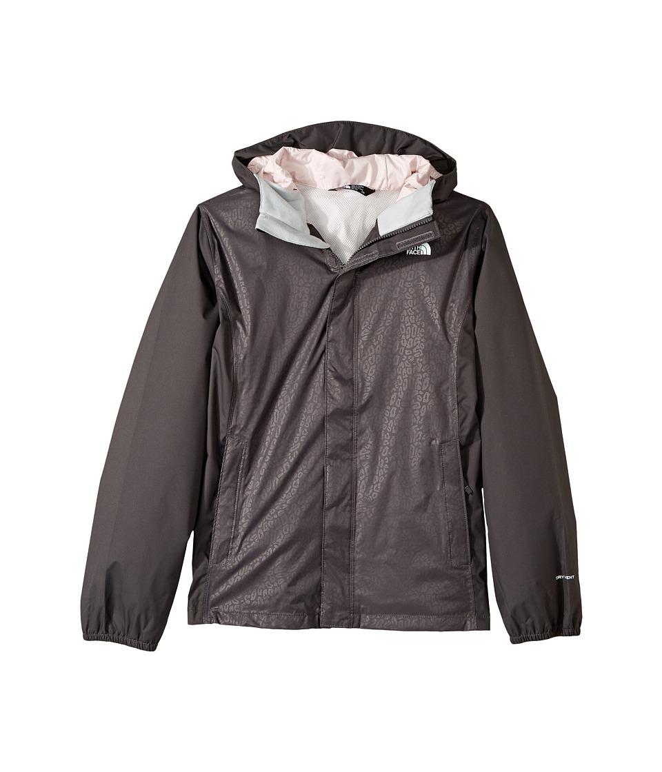 The North Face Kids Resolve Reflective Jacket (Little Kids/Big Kids) (Graphite Grey (Prior Season)) Girl