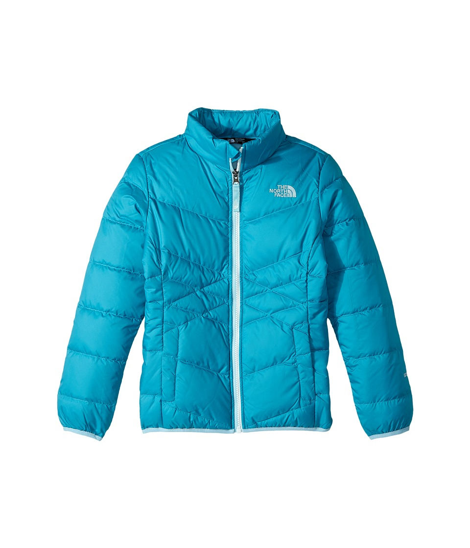 The North Face Kids Andes Down Jacket (Little Kids/Big Kids) (Algiers Blue (Prior Season)) Girl