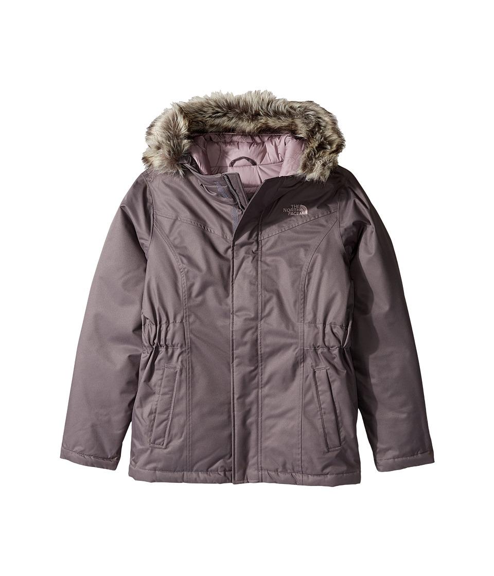 The North Face Kids Greenland Down Parka (Little Kids/Big Kids) (Rabbit Grey (Prior Season)) Girl