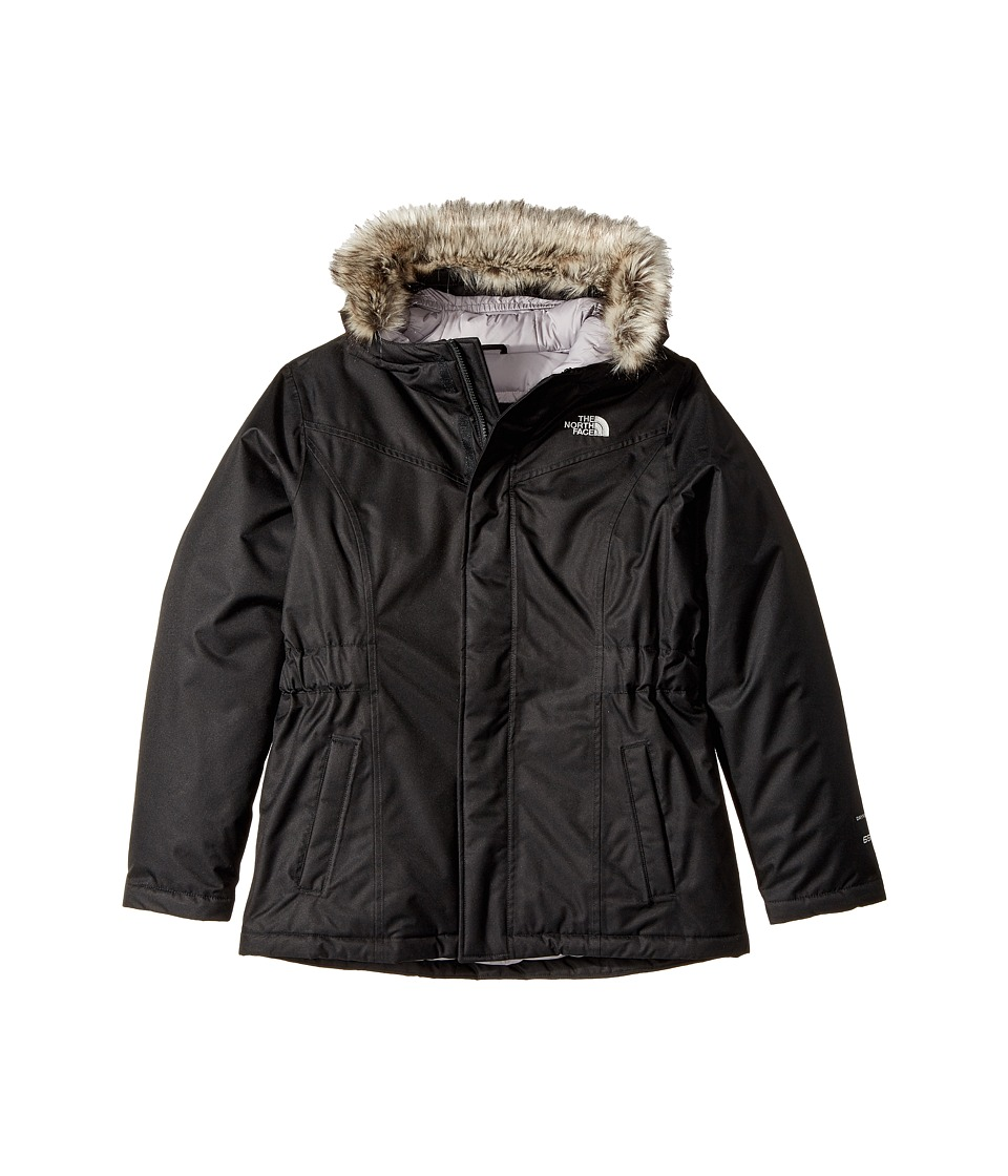 The North Face Kids Greenland Down Parka (Little Kids/Big Kids) (TNF Black (Prior Season)) Girl