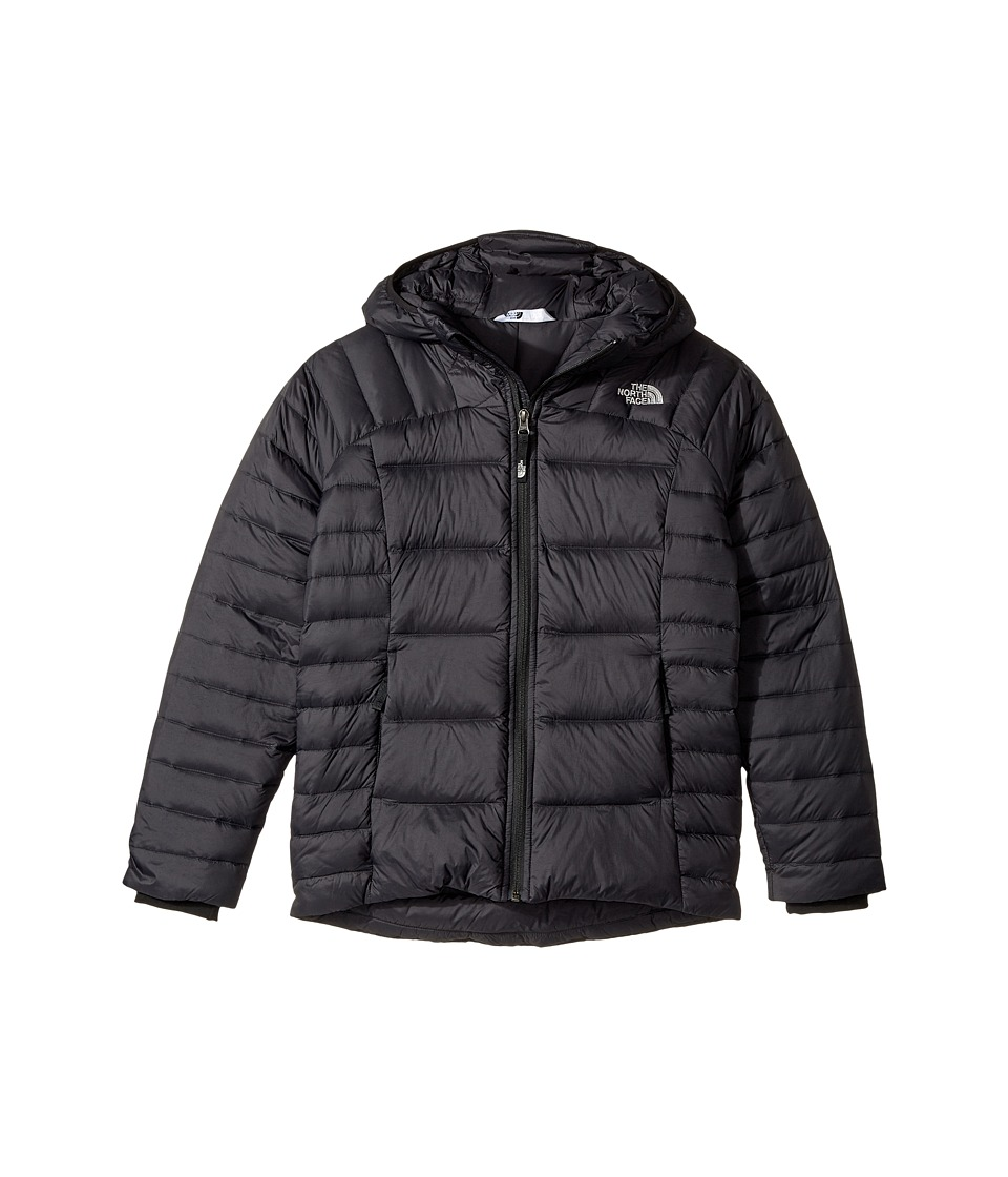 The North Face Kids Double Down Hoodie (Little Kids/Big Kids) (TNF Black (Prior Season)) Girl