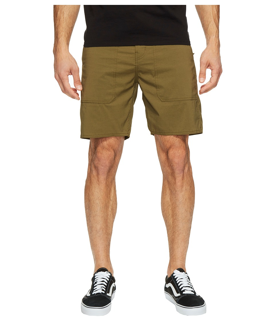 Brixton - Prospect (Olive) Men's Shorts