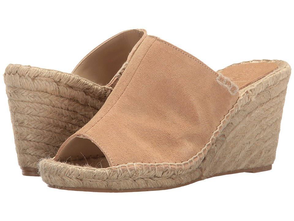 Soludos - Mule Wedge (Cream) Women's Wedge Shoes