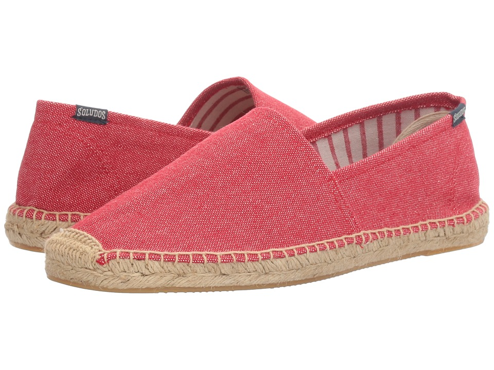 Soludos - Solid Original Dali (Carmine) Men's Shoes