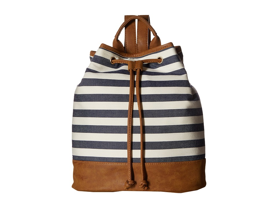 Deux Lux - Crew Backpack (Navy) Backpack Bags
