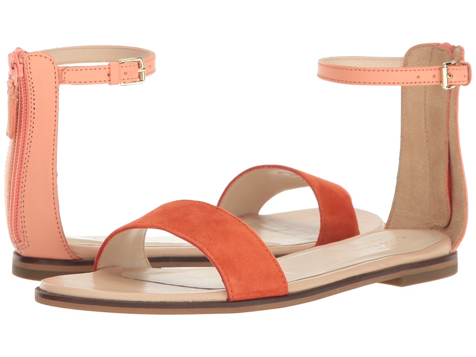 Cole Haan - Bayleen Sandal II (Nectar Leather/Spicy Orange Suede/Nude Leather) Women's Sandals