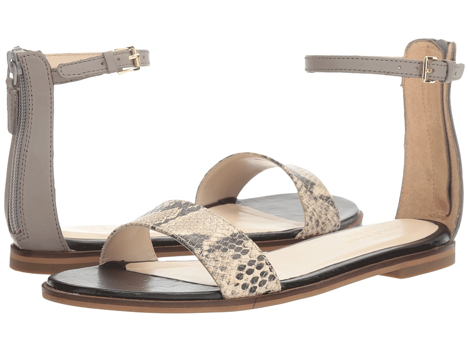 Cole Haan - Bayleen Sandal II (Ironstone Leather/Multi Snake Print) Women's Sandals