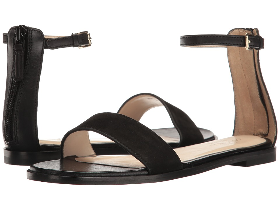 Cole Haan - Bayleen Sandal II (Black Leather/Black Suede) Women's Sandals