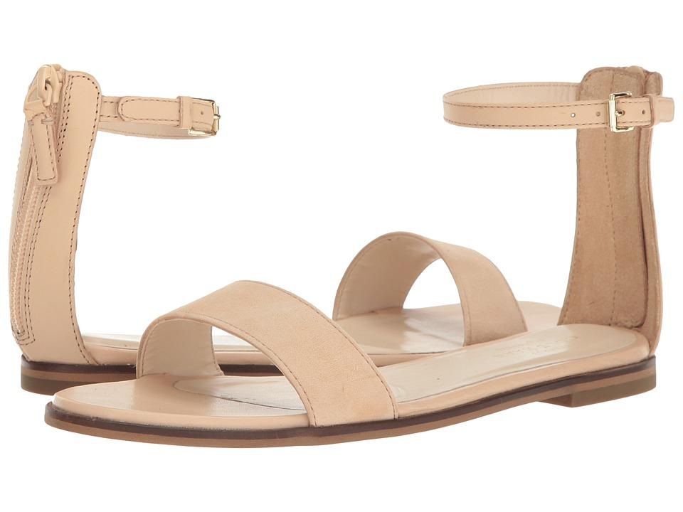Cole Haan - Bayleen Sandal II (Nude Leather/Nude Suede) Women's Sandals