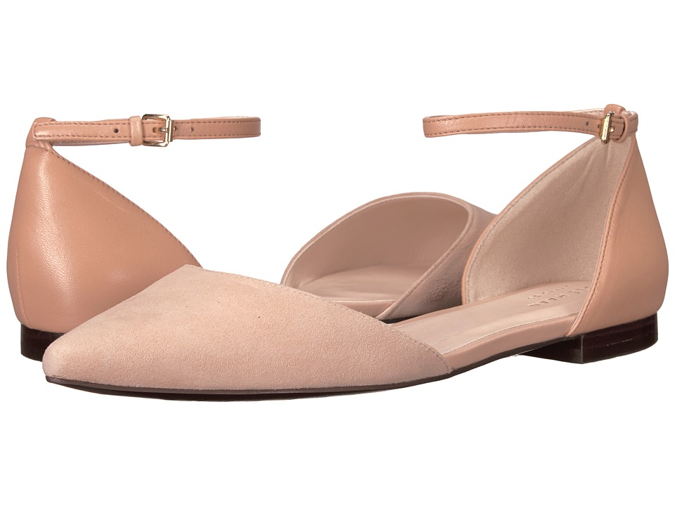 Cole Haan Demri Skimmer II (Nude Leather/Nude Suede) Women