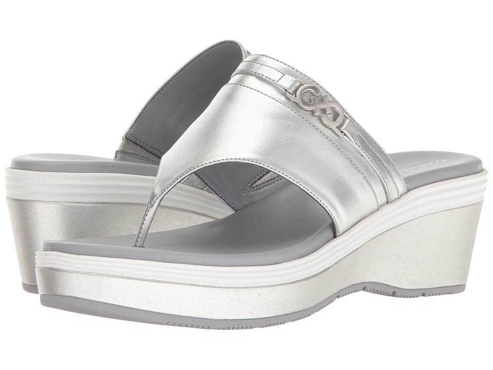 Cole Haan - Lindy Grand Thong II (CH Argento Leather/Sleet/CH Argento) Women's Shoes