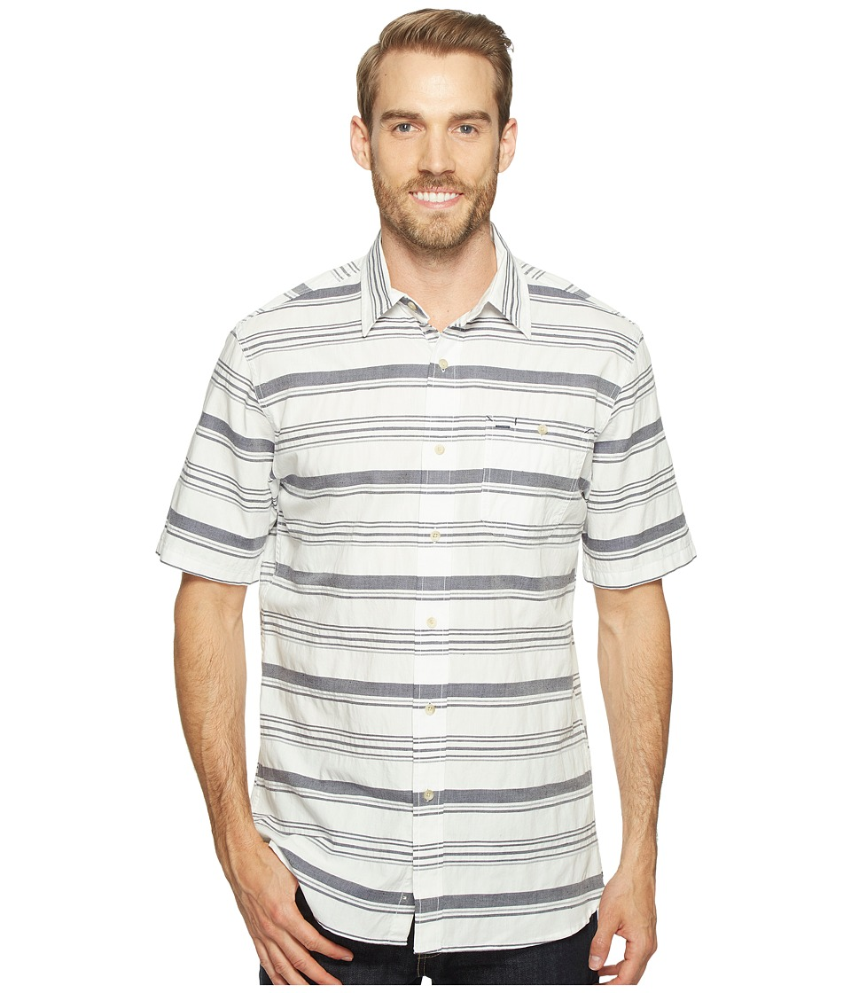 Pendleton - Kay Street Shirt (Blue/White) Men's Short Sleeve Button Up