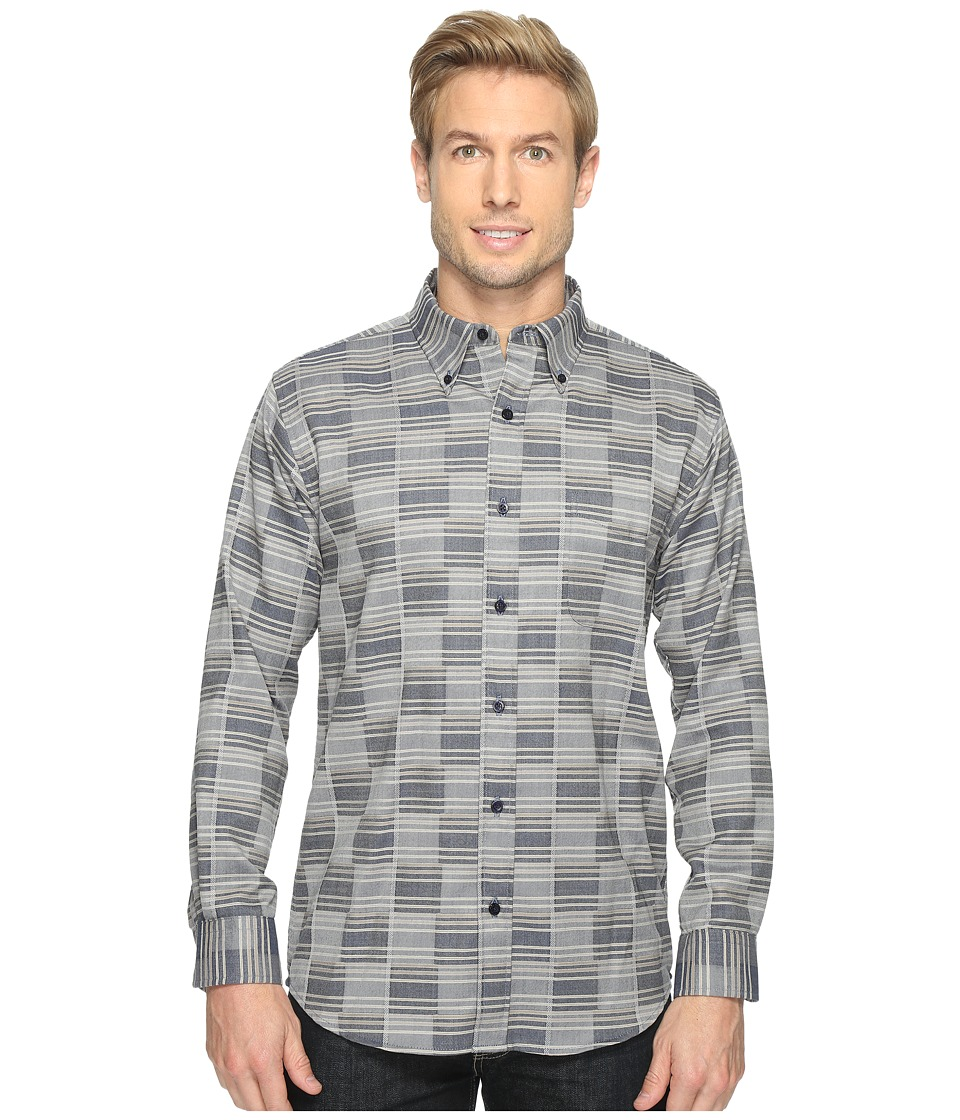 Pendleton - Mill Shirt (Blue Block) Men's Clothing