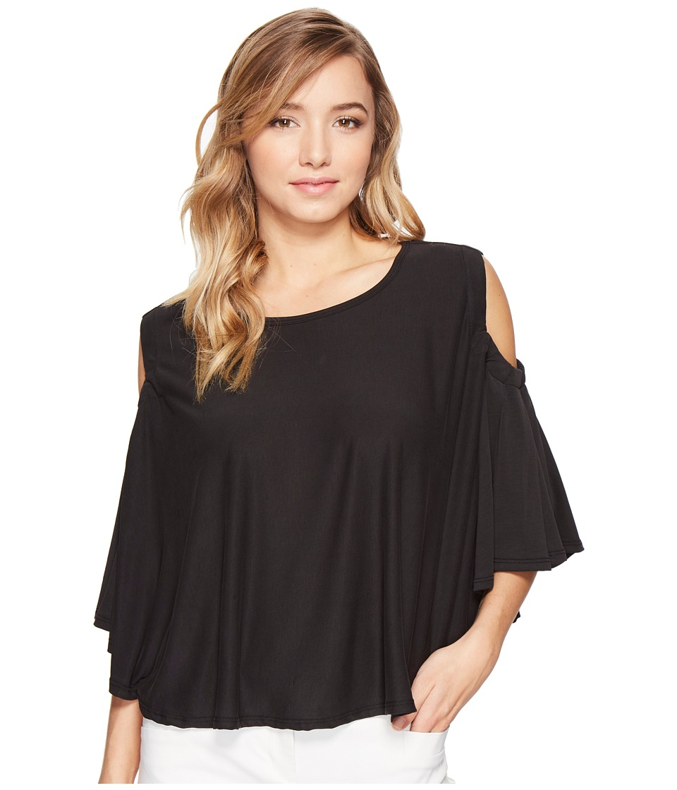 CATHERINE Catherine Malandrino - Jojo Top (Black) Women's Clothing