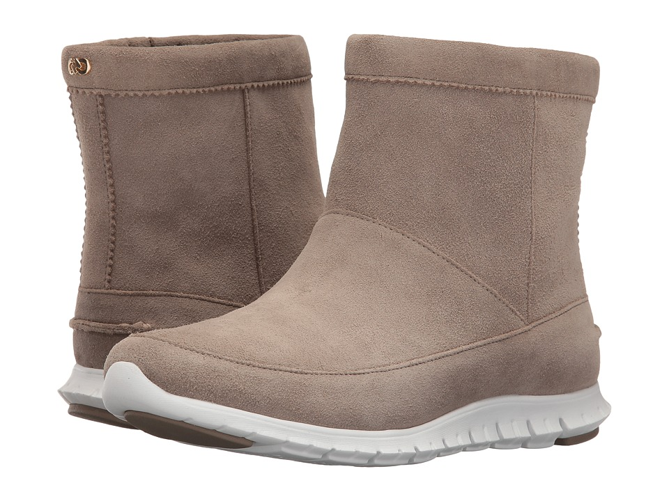 Cole Haan Zerogrand Bootie WP (Desert Taupe/Pavement) Women
