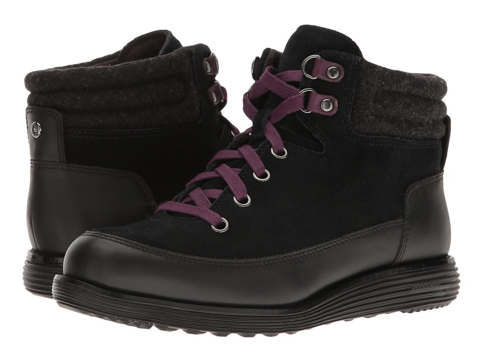 Cole Haan - Hiker Grand Boot II (Black Waterproof/Black) Women's Boots
