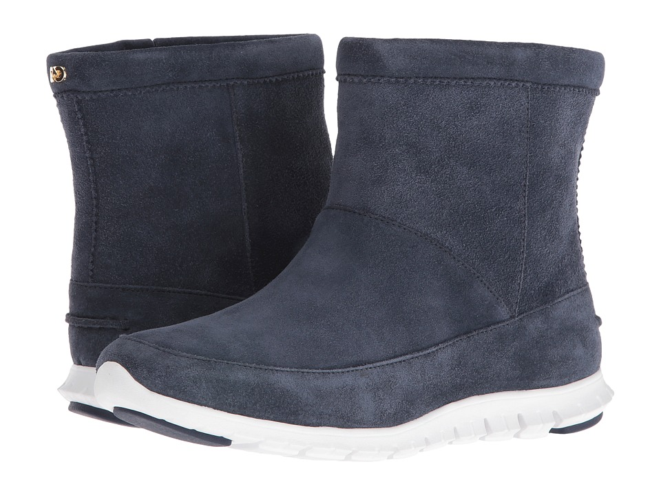 Cole Haan Zerogrand Bootie WP (Dark Night/White) Women