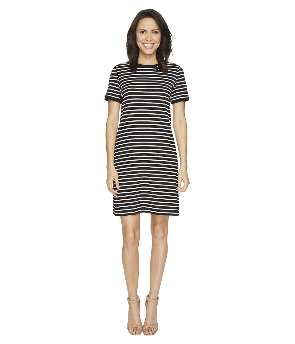 CATHERINE Catherine Malandrino - Clem Dress (Black/White) Women's Dress