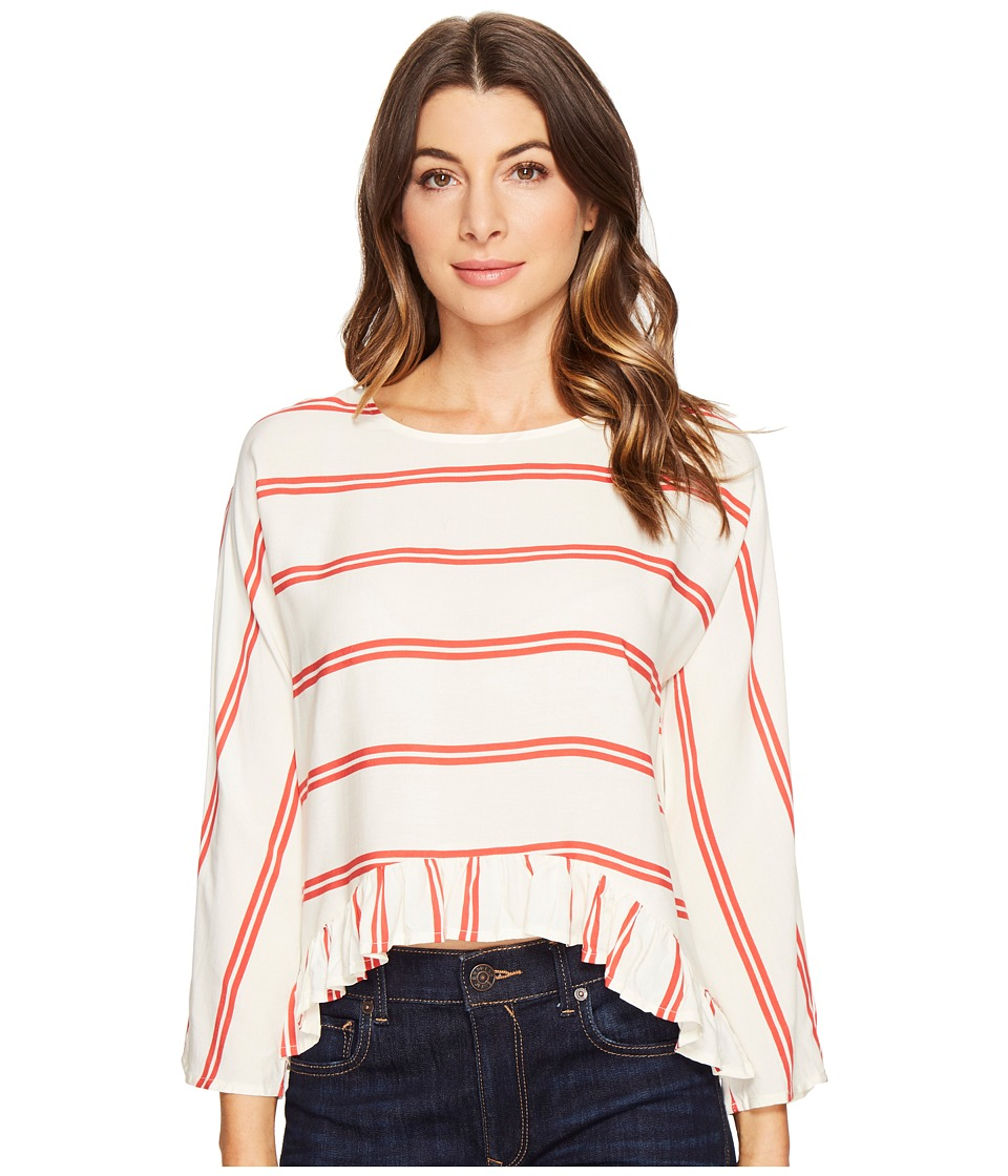 CATHERINE Catherine Malandrino - Gabriella Blouse (Fennel Stripe Red) Women's Blouse
