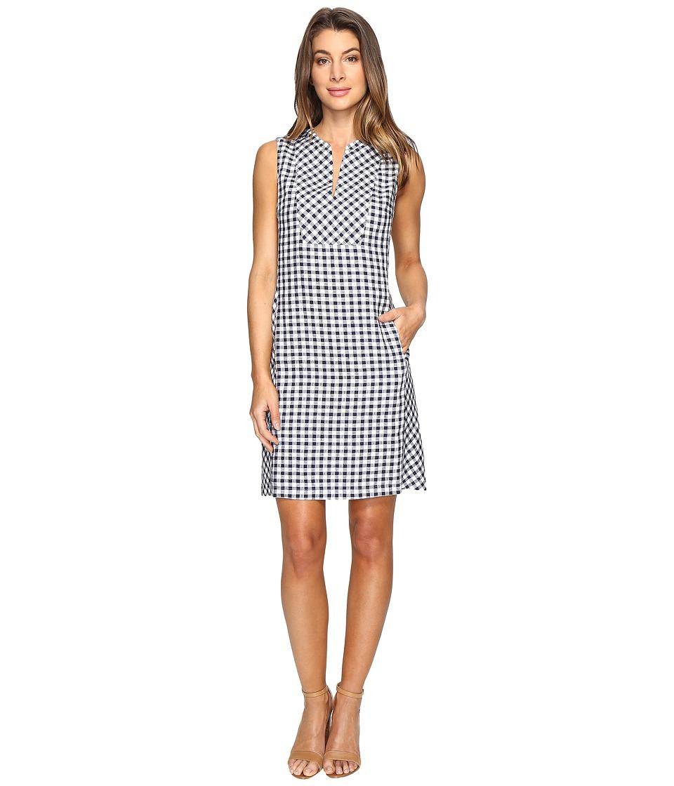 Tommy Bahama - Gingham the Great Short Dress (Ocean Deep) Women's Dress