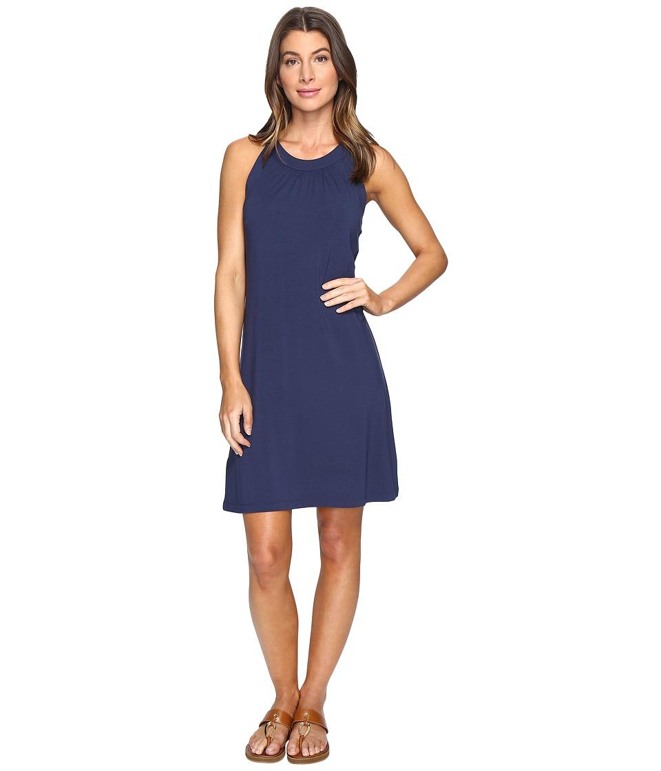 Tommy Bahama Tambour Sleeveless Short Dress (Ocean Deep) Women