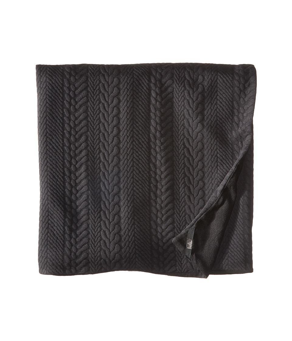 Prana - Macee Blanket (Black) Blankets
