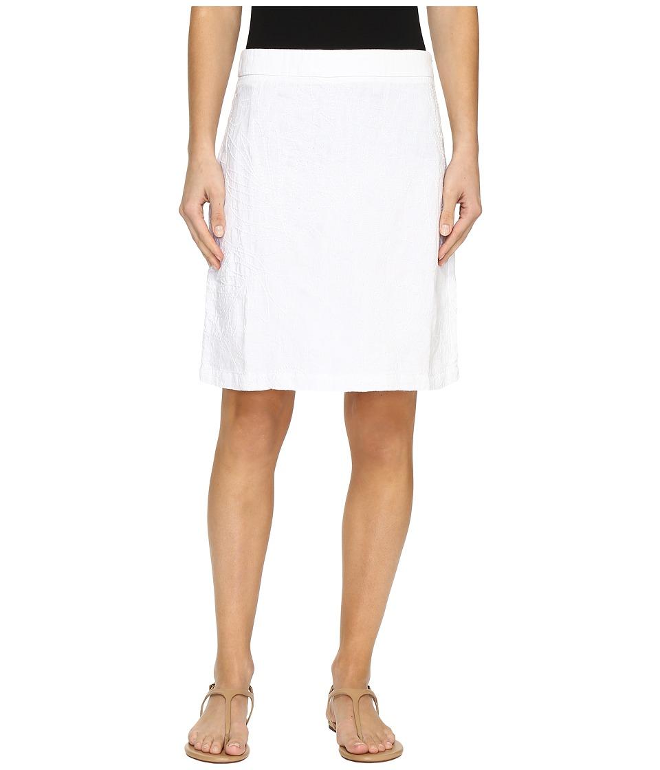 Tommy Bahama Pick Leaf Skirt (White) Women