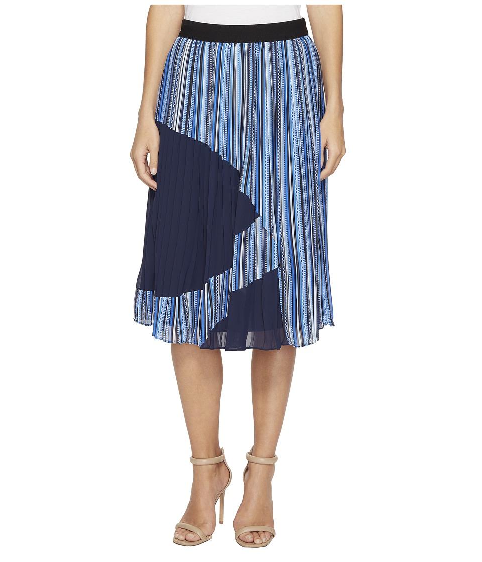 CATHERINE Catherine Malandrino - Francis Skirt (Chain Stripe Combo) Women's Skirt