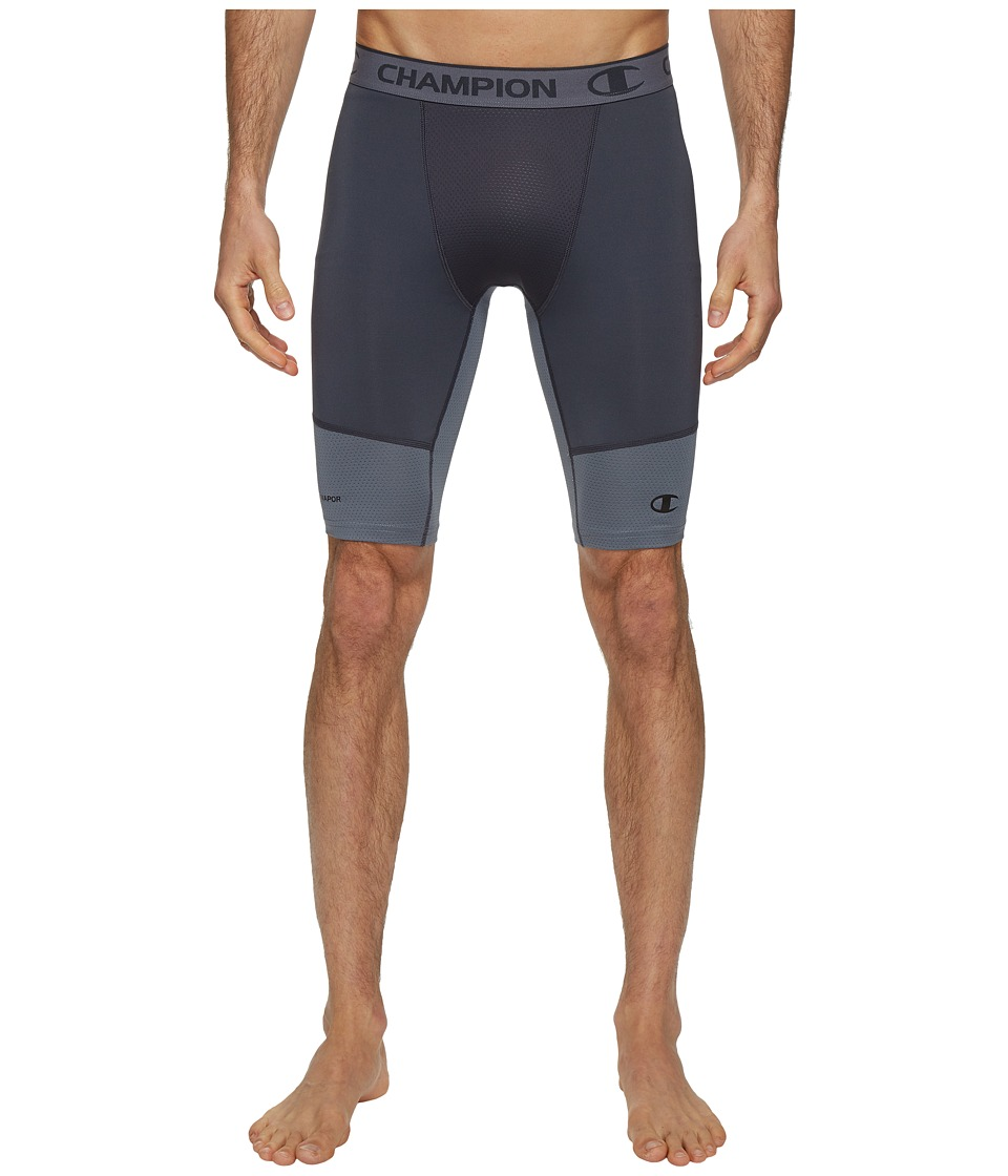 Champion Power Flex 9 Compression Shorts (Stealth/Stormy Night) Men