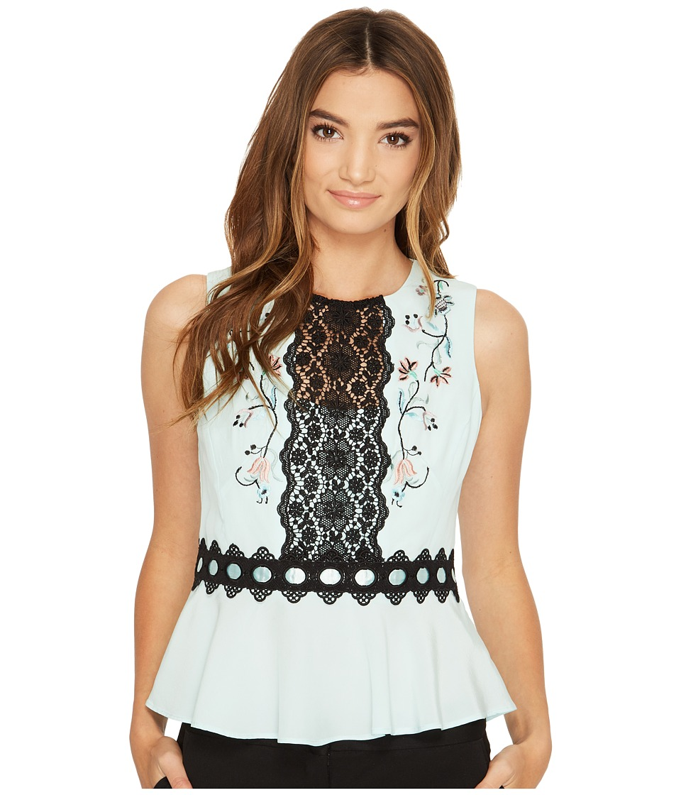 Nanette Lepore Posie Top (Mint) Women