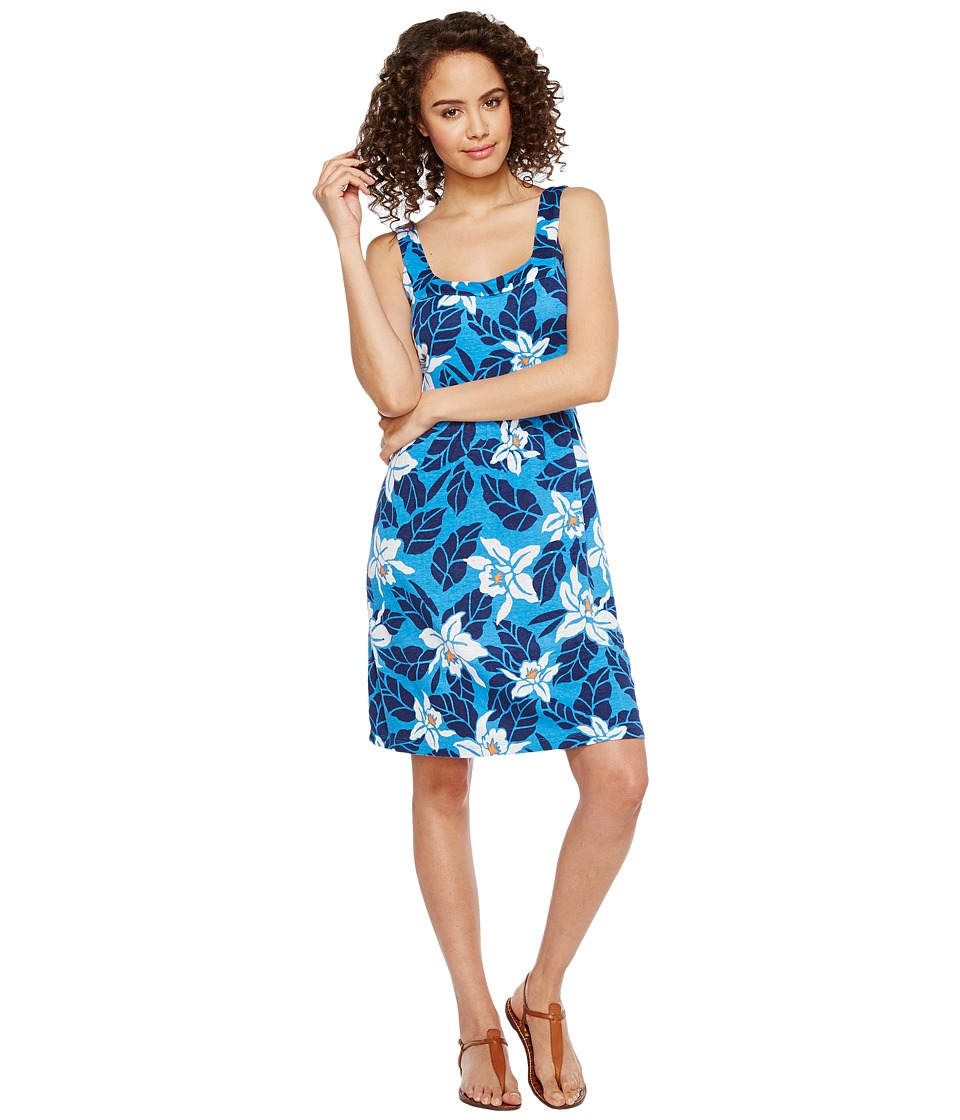 Tommy Bahama - Olympias Blooms Short Dress (Download Blue) Women's Dress