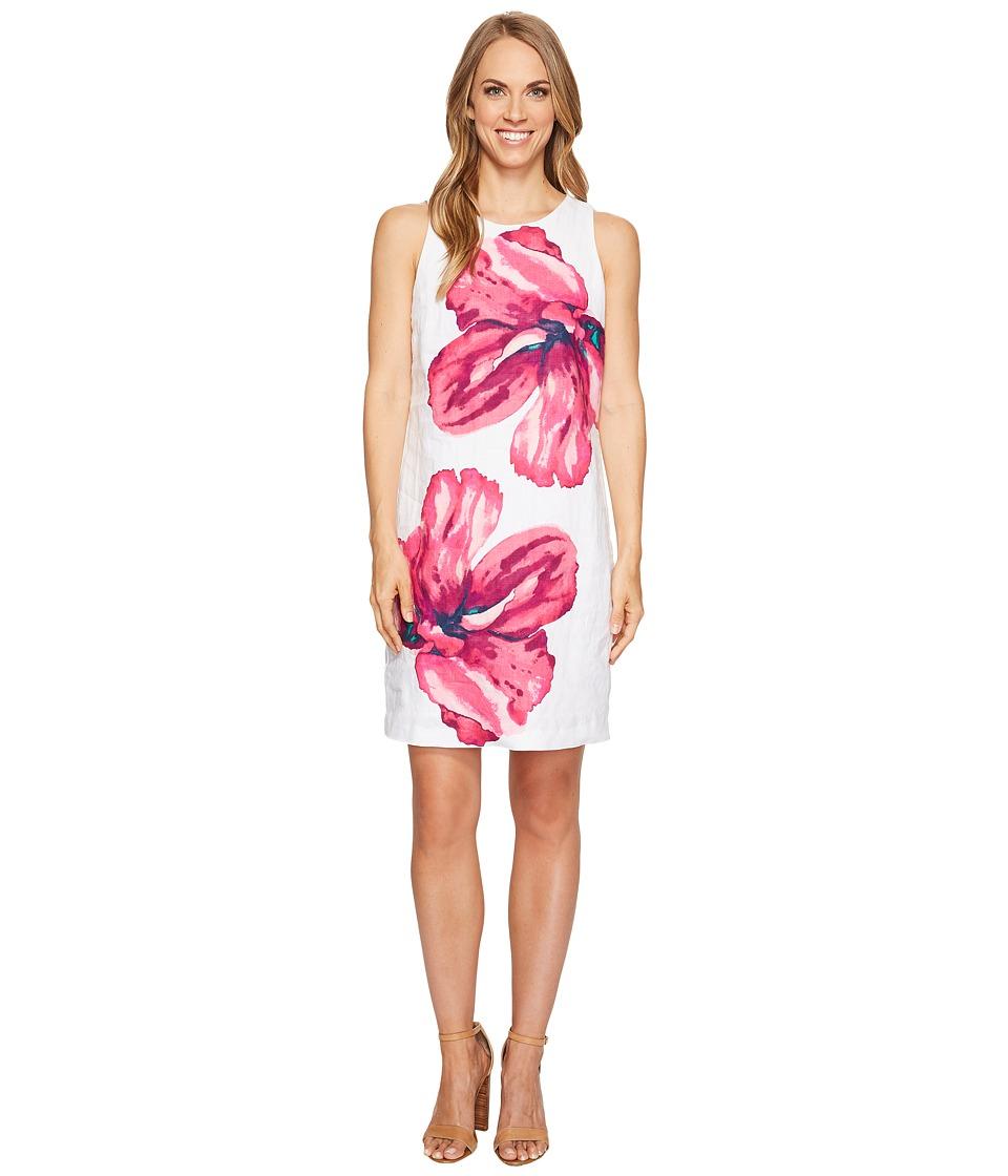 Tommy Bahama - Kavala Blossoms Short Dress (White) Women's Dress