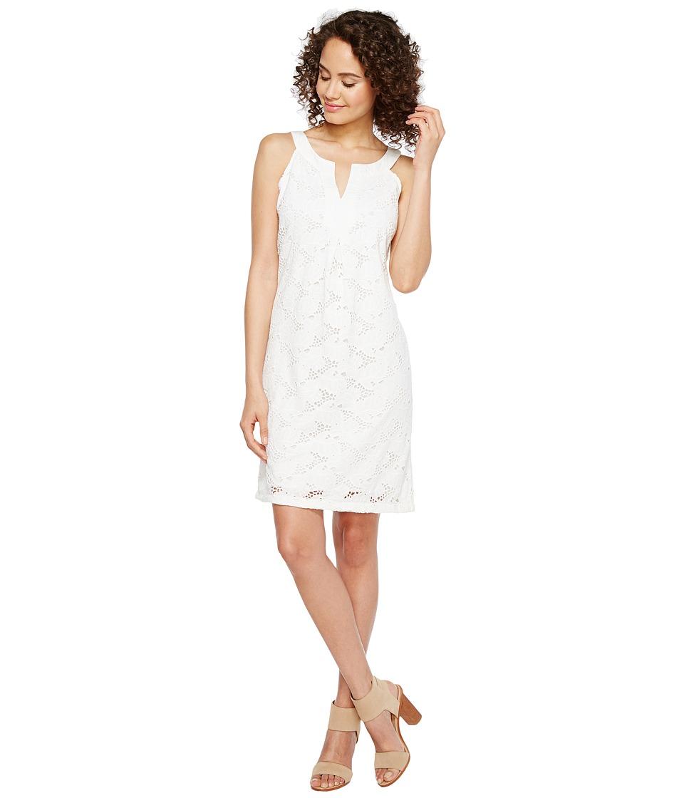 Tommy Bahama - Eyelet Short Shift Dress (White) Women's Dress