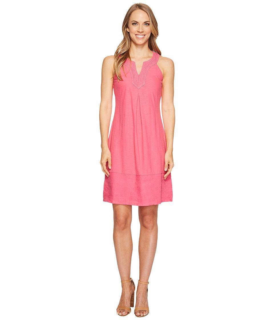 Tommy Bahama - Arden Embroidered Sleeveless Short Dress (Raspberry Sorbet) Women's Dress
