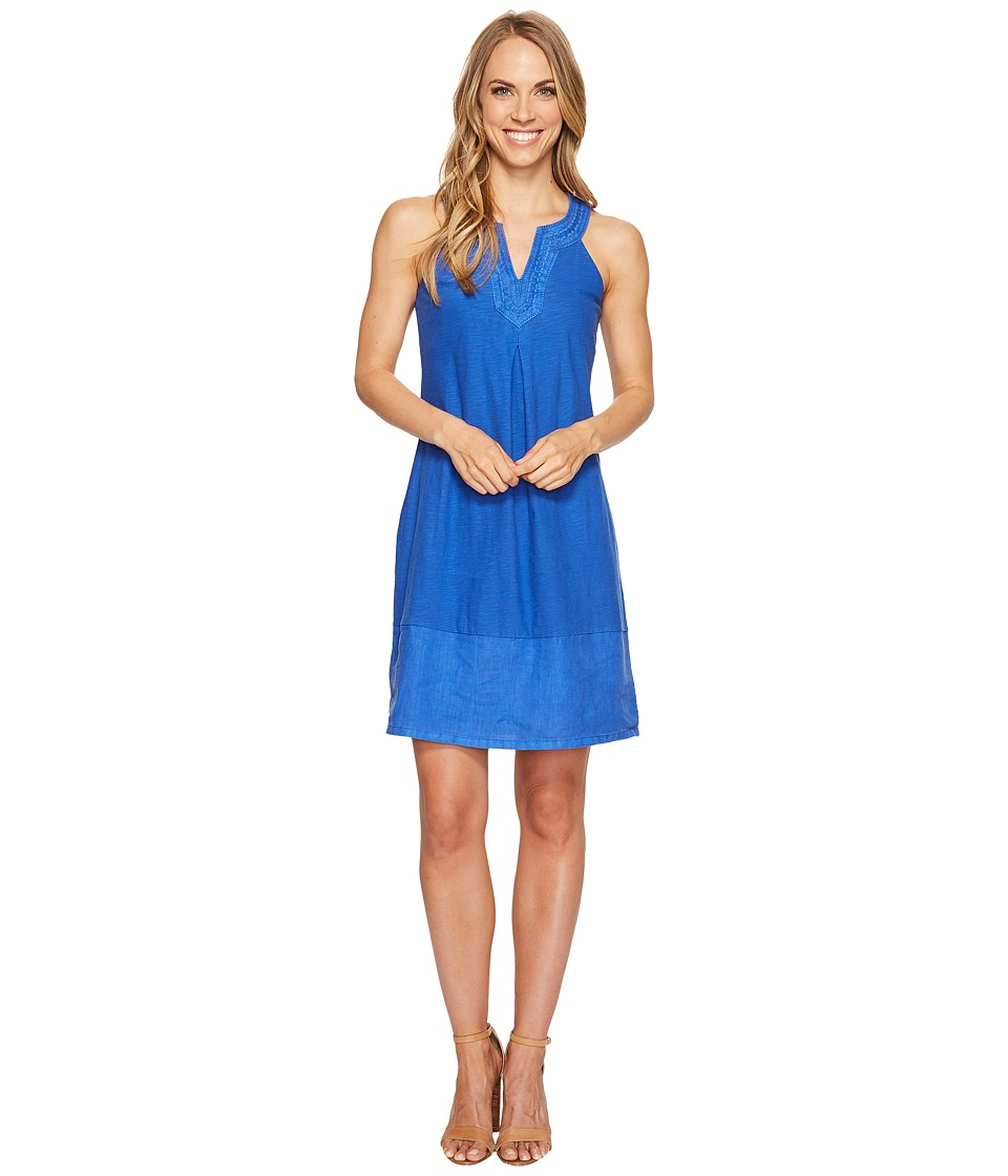 Tommy Bahama - Arden Embroidered Sleeveless Short Dress (Old Royal) Women's Dress