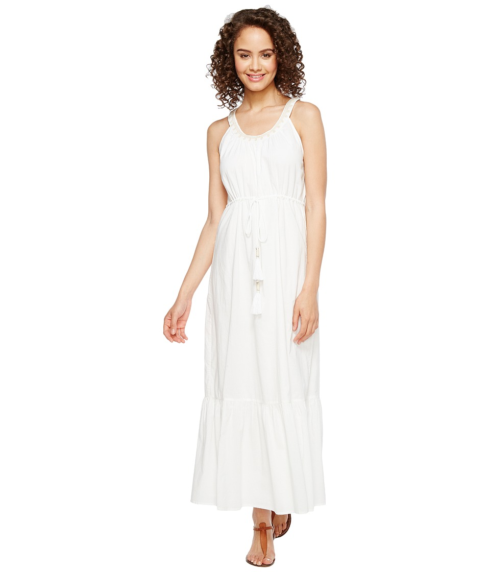 Tommy Bahama - Cotton Voile Maxi Sundress (White) Women's Dress