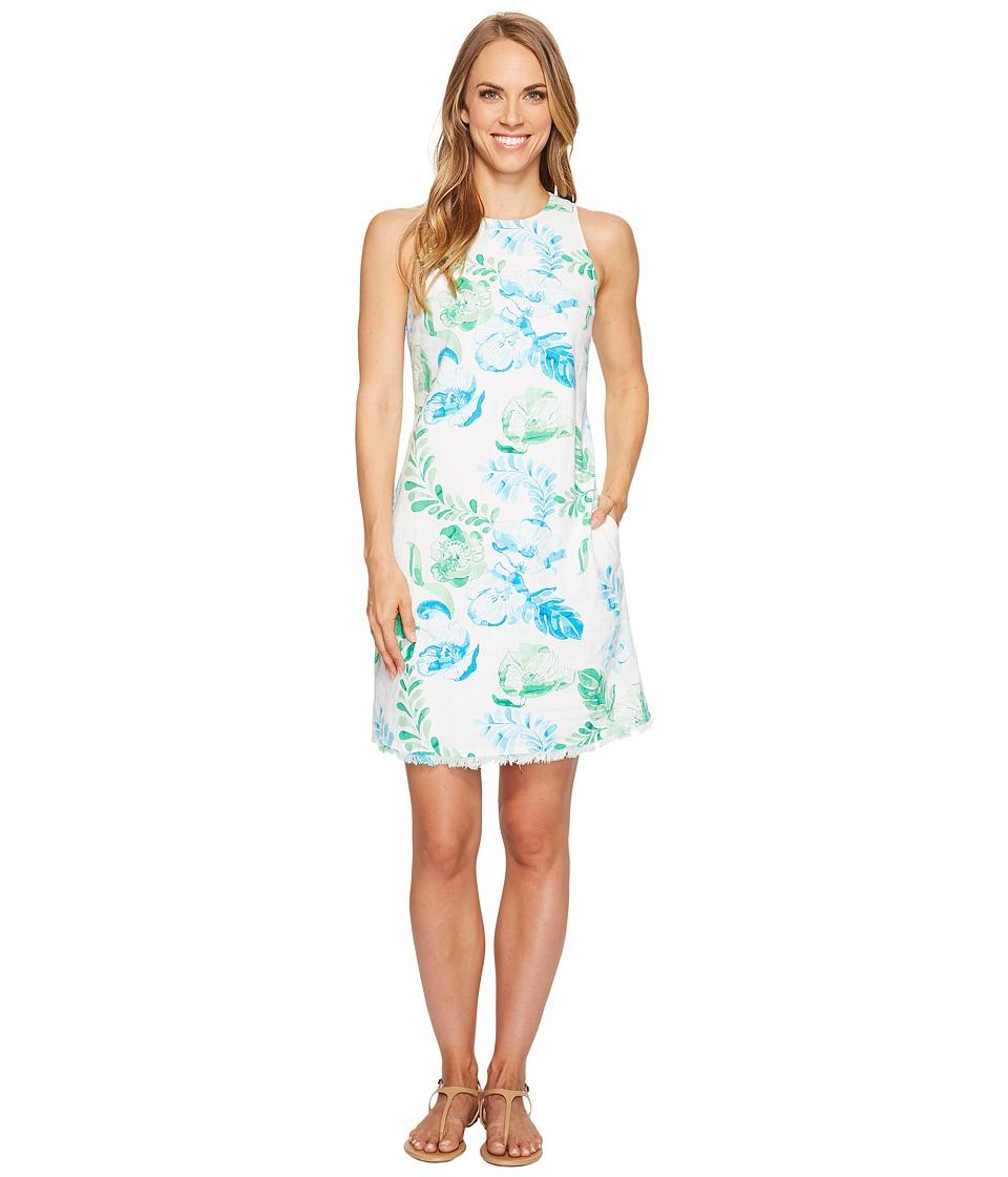 Tommy Bahama - Florals Falling Sleeveless Short Dress (Jadite) Women's Dress