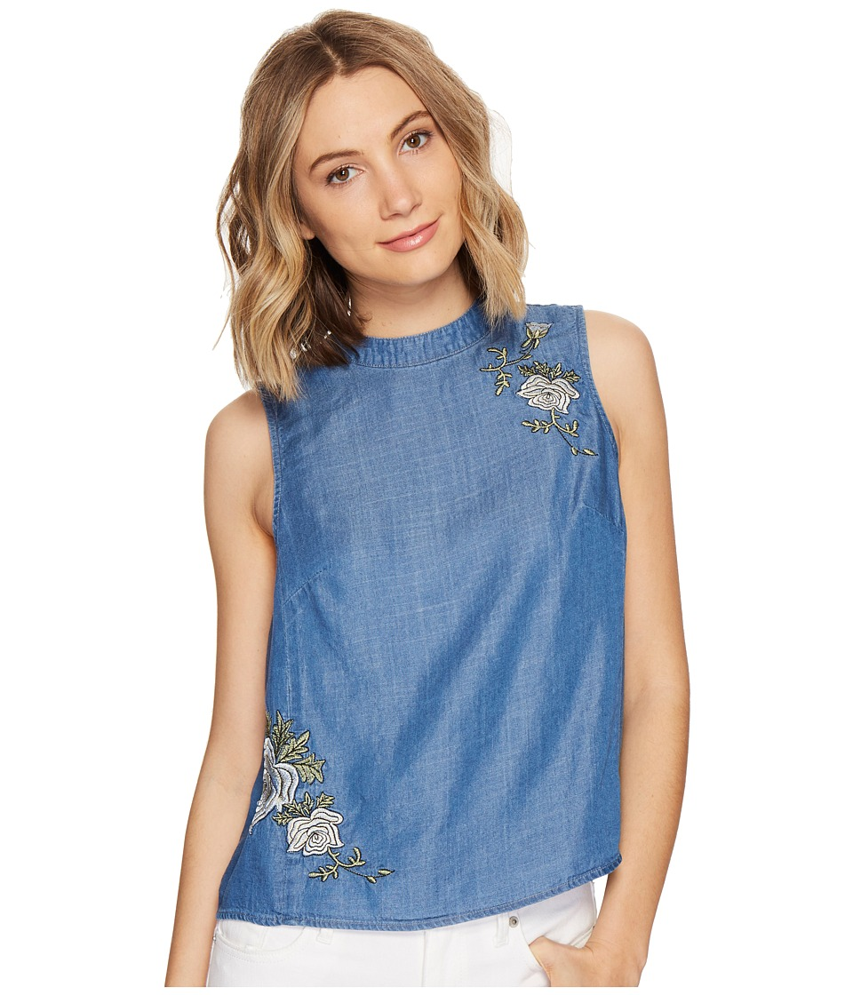 CATHERINE Catherine Malandrino - Heidi Top (Chambray) Women's Clothing