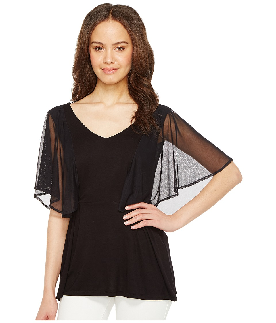 CATHERINE Catherine Malandrino - Cecely Blouse (Black) Women's Blouse